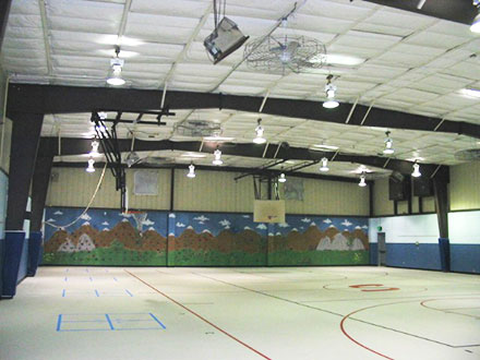 Metal Building Gym Insulation