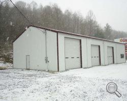 Steel Automotive Garages For Sale Lth Steel Structures