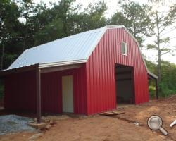 Steel Steel Pole Barns For Sale Lth Steel Structures