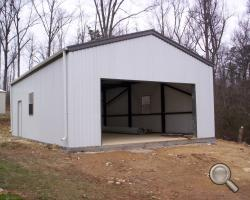 Steel garage steel framing kits for sale lth steel for 24x36 garage kit