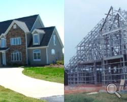 steel framing kits for custom homes