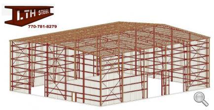 100 39 X 120 39 X 40 39 Steel Building For Sale Waller Tx