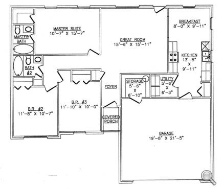 Steel home plans floor plans for Metal frame house plans