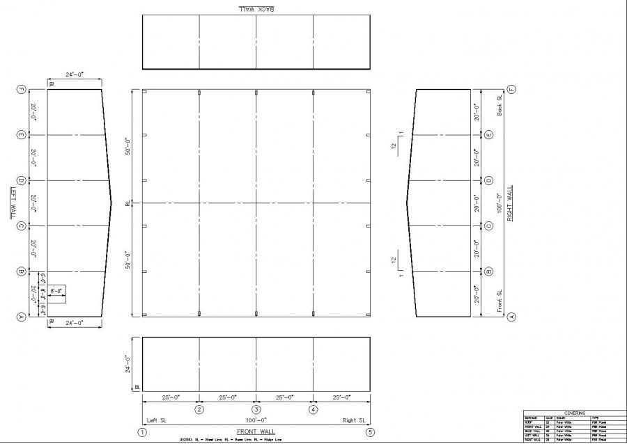 Image gallery steel layout for Metal building layouts