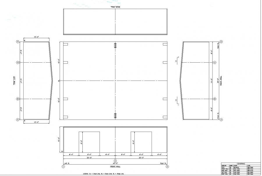 20 X 40 Warehouse Floor Plan Google Search: 30' X 40' X 10' Steel Building For Sale