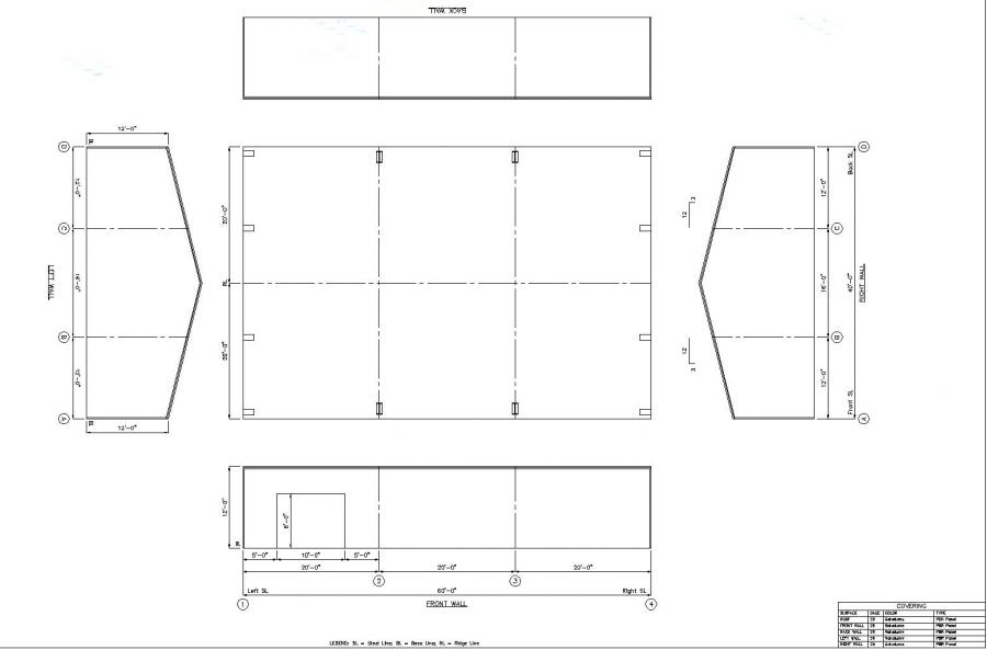 40x60 Metal Building Plans Pictures To Pin On Pinterest