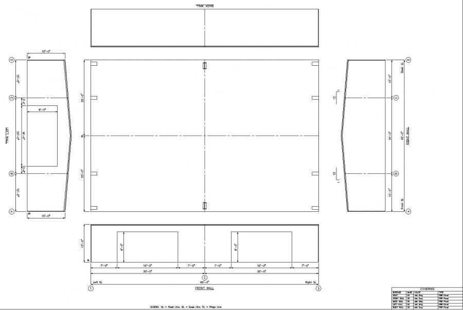 40 x 60 metal building floor plans for Metal building blueprints