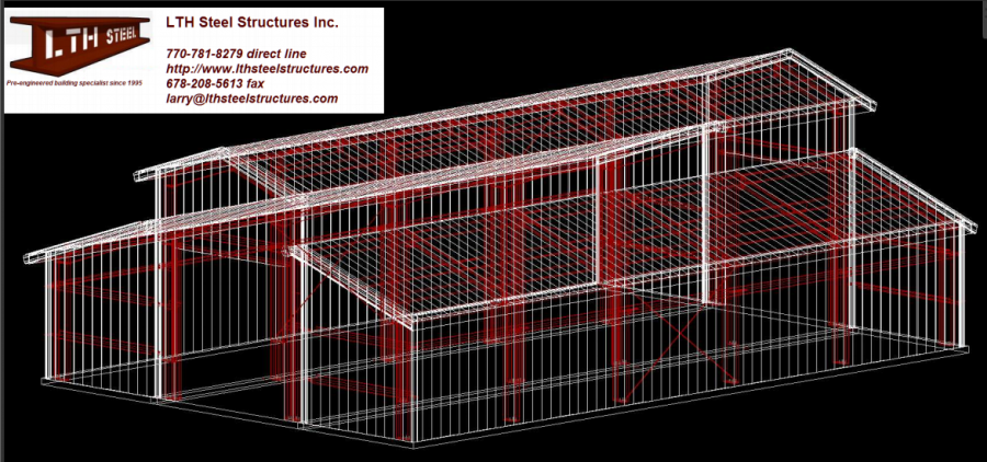 40 X 60 X 18 Steel Building For Sale Shellman Ga