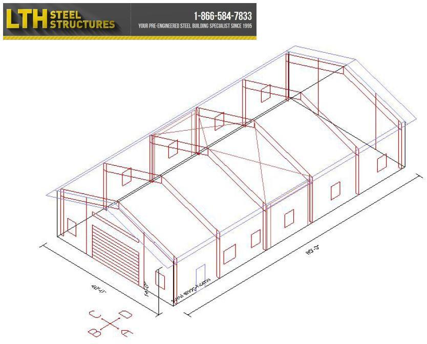 Commercial metal building floor plans Commercial building plans for sale