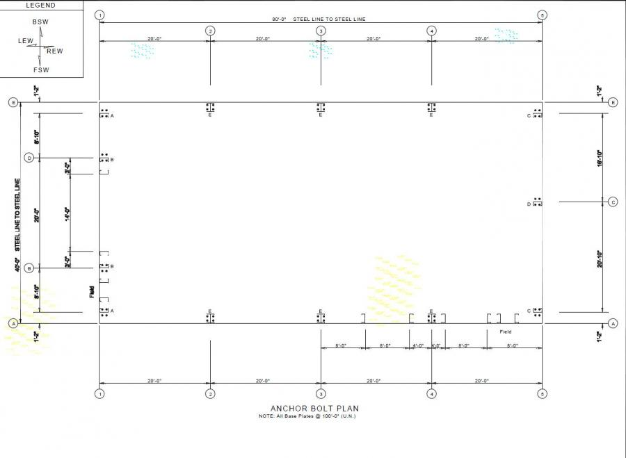 40 39 x 80 39 x 20 39 steel building for sale attawa on for Metal building layouts