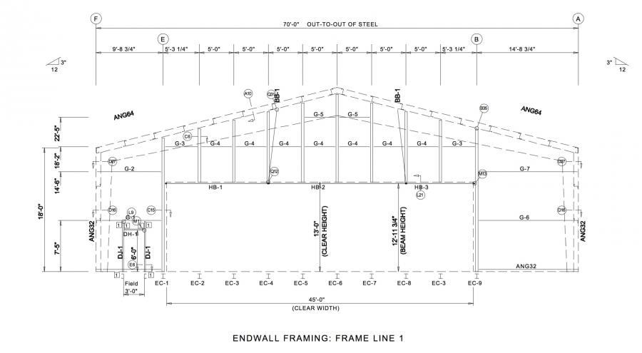 Metal Building Foundation Design Examples