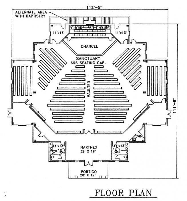 New church building floor plans car interior design for Modern church designs and floor plans
