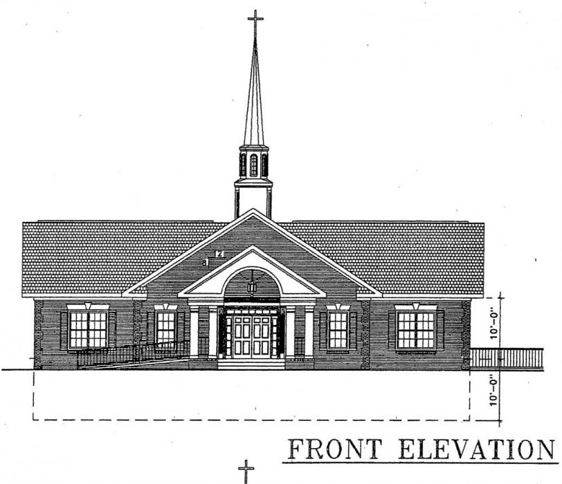 Front Elevation Of Church Joy Studio Design Gallery Best Design