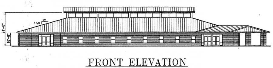 10000 sq ft church plans. Church Plan  107 112 LTH Steel Structures