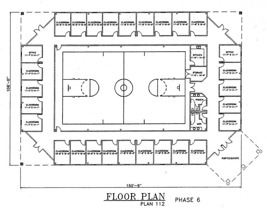 Church Plan 112 Lth Steel Structures