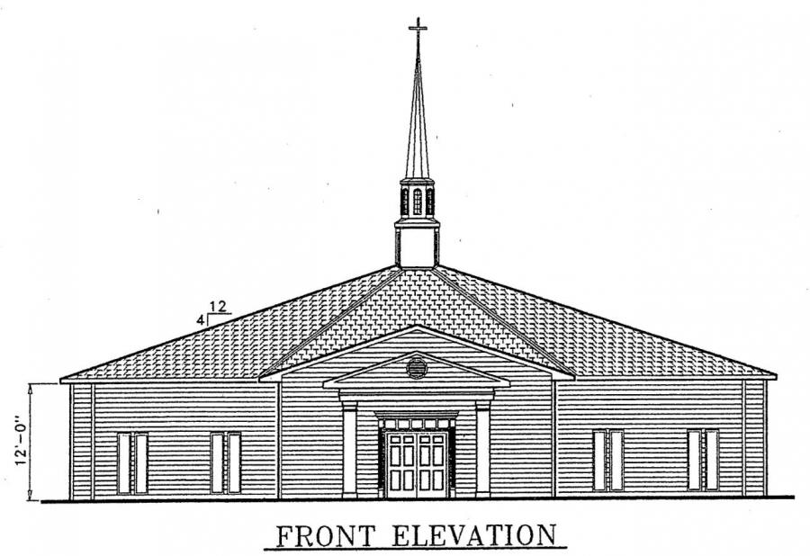 Church Plan 130 Lth Steel Structures