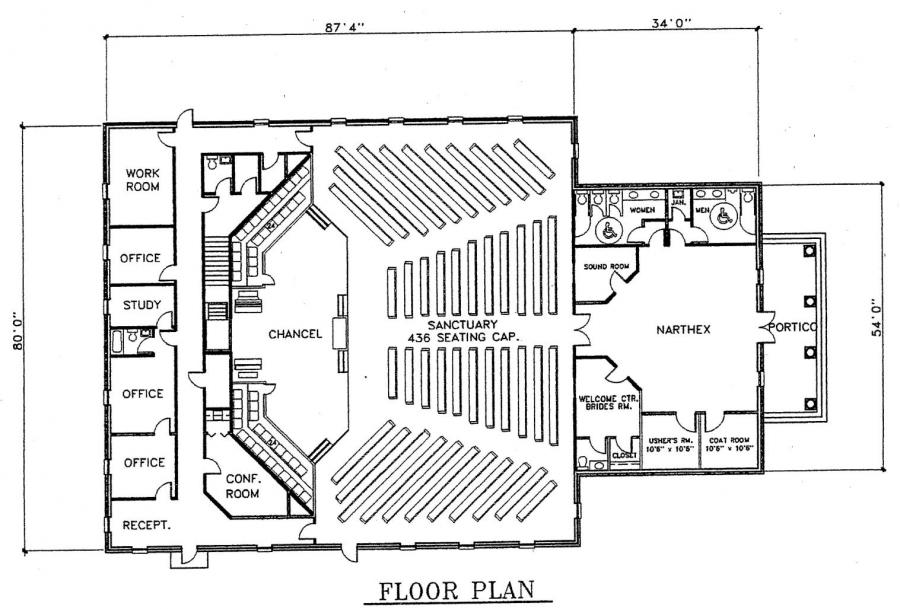Floor plans as well episcopal church floor plan on church floor plans