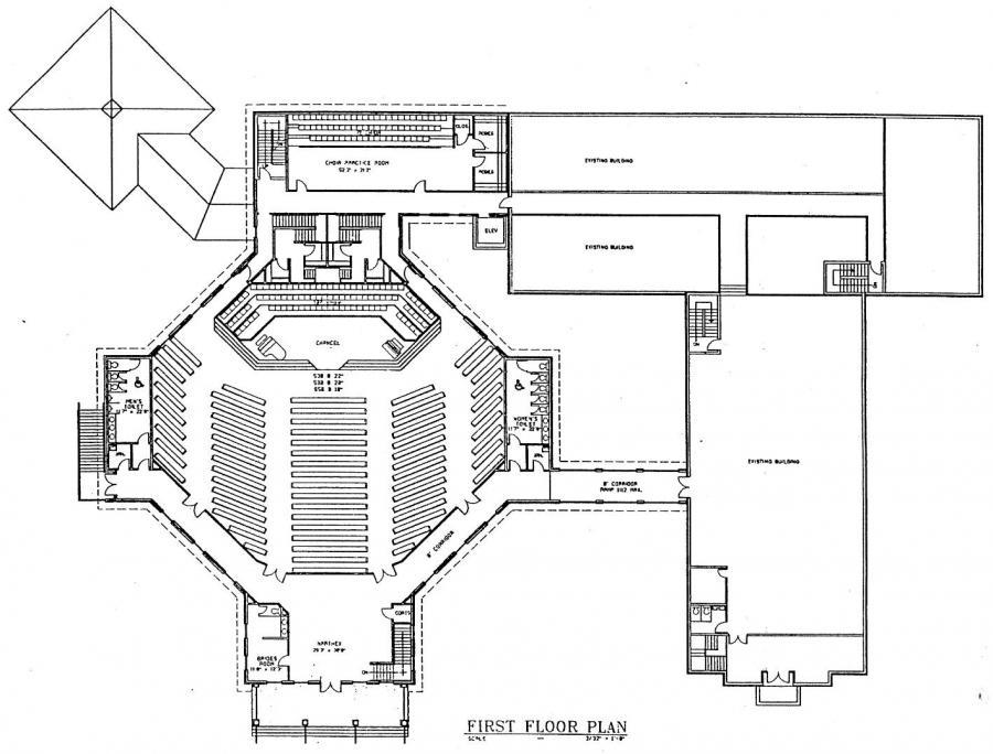 Church Plan 153 Lth Steel Structures