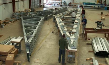 Steel Structural All Galvanized Coated Steel Framing
