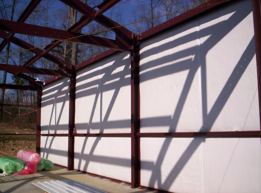 Steel Frame Garage : Steel garage framing kits for sale lth