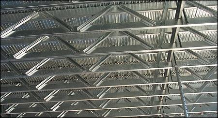 Steel steel trusses pre engineered for sale lth steel for Pre made trusses price