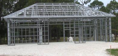 Steel Cold Formed Framing Kits For Sale Lth Steel Structures