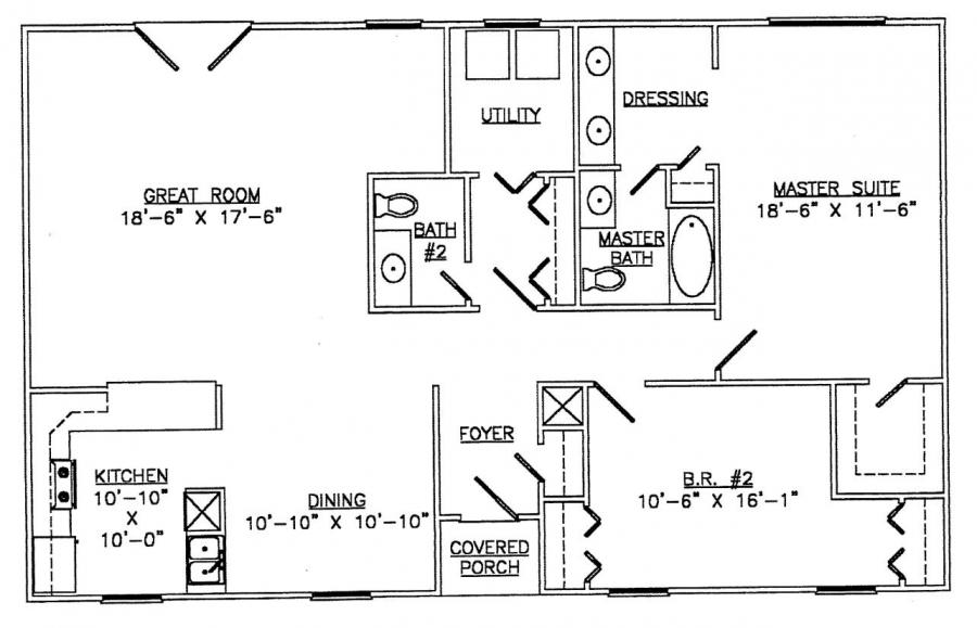 Floor plans for steel frame homes Metal frame home plans