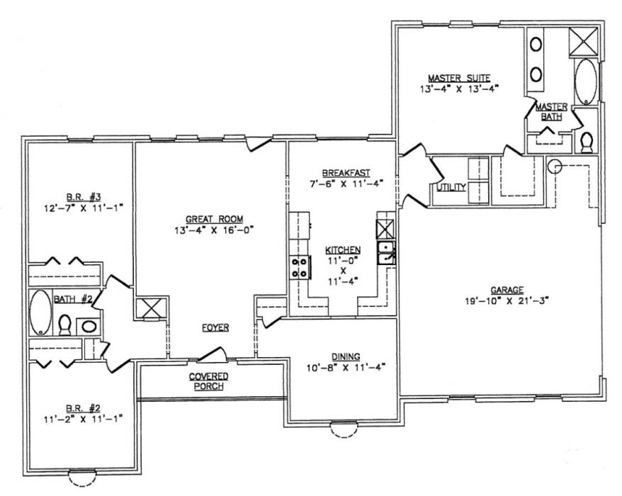 Steel frame house plans floor plans for Steel frame home plans