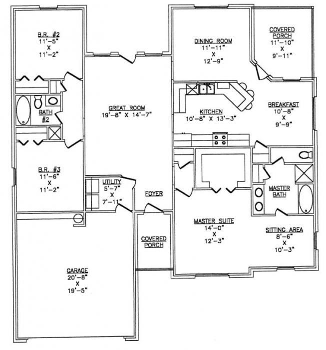 The lth031 lth steel structures for Metal frame homes floor plans