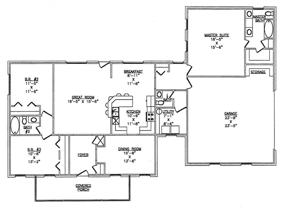 Steel homes floor plans gurus floor for Metal building plans free