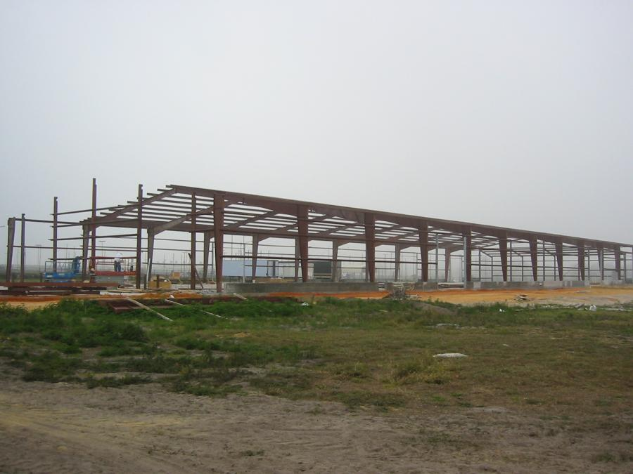 Steel steel pole barns for sale lth steel structures for Steel barn structures