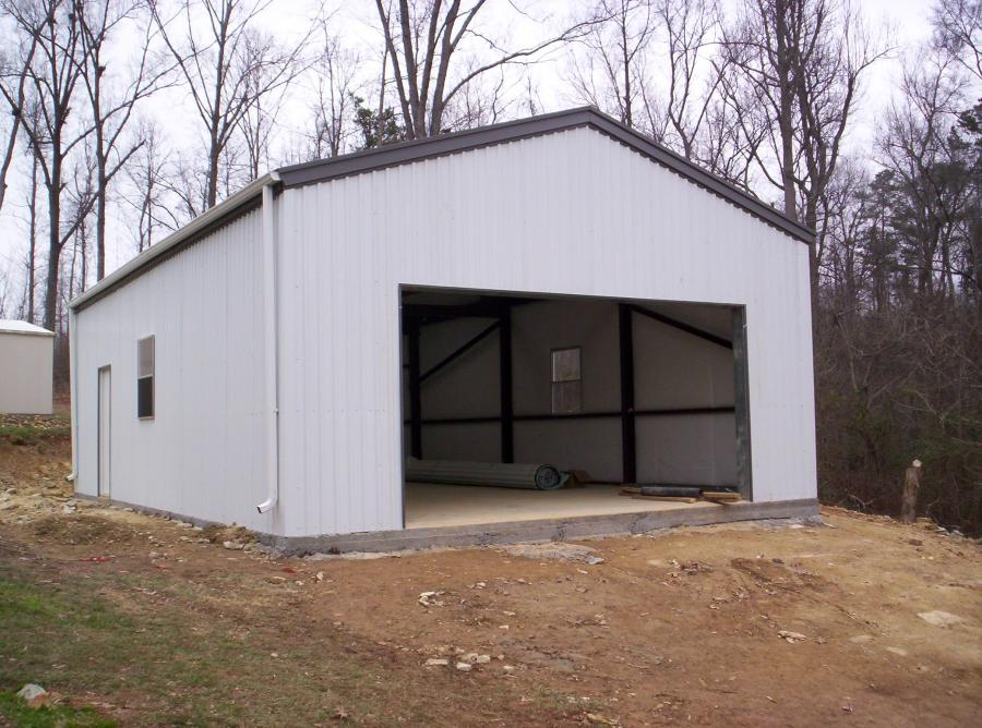 Steel Frame Building Kits : Steel garage framing kits for sale lth