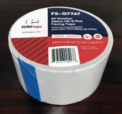 White Reinforced Vinyl Patch Tape for Insulation