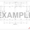 Clearspan Steel Building Planning Plans Anchor Bolt Layout